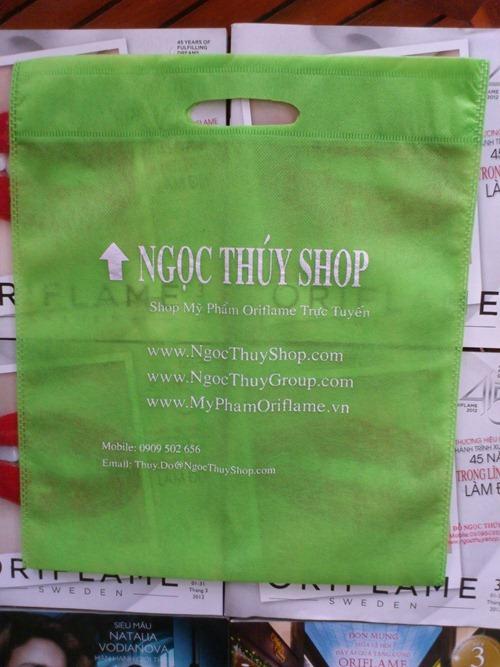 Ngọc Thúy Shop 'go green' với túi vải bảo vệ môi trường