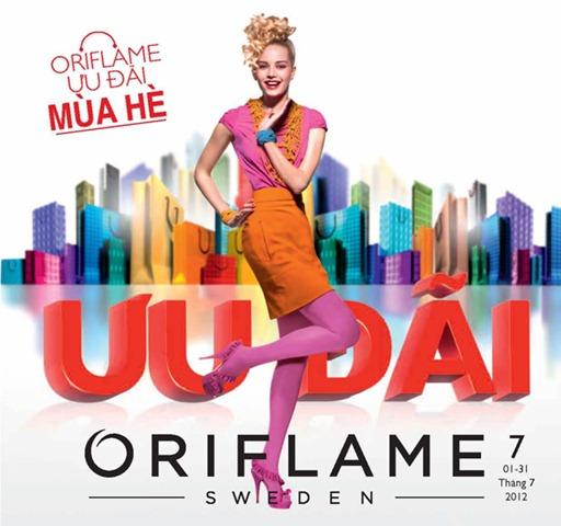 """Catalogue mỹ phẩm Oriflame 7-2012: """"Làm Đẹp Thật Tiết Kiệm"""""""