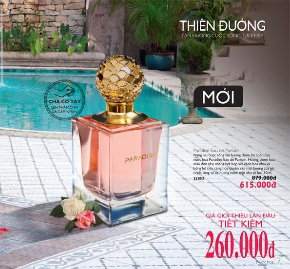 Nước hoa Oriflame Paradise Eau de Parfume (23853)