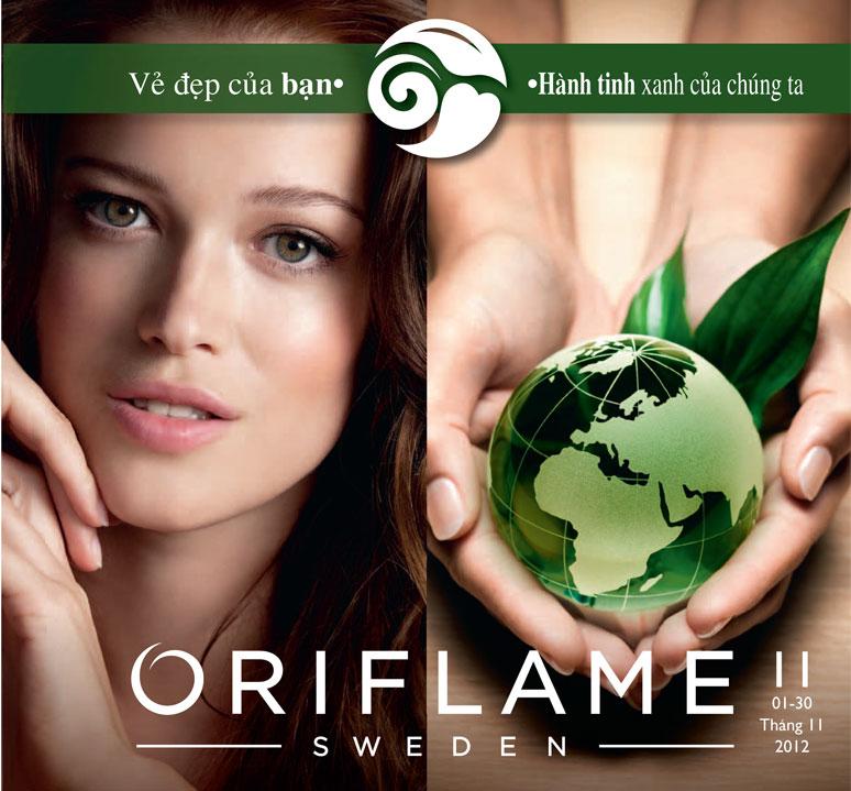 catalogue my pham oriflame 11 2012 trang 1 Catalogue Oriflame 11 2012: Khuyến mãi giảm giá toàn bộ catalogue
