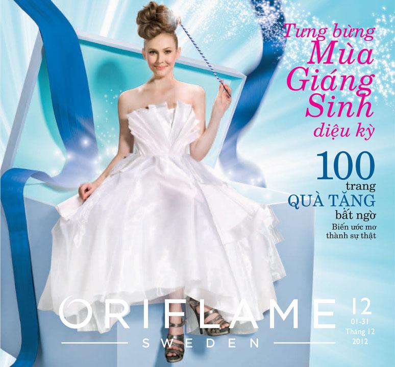 Catalogue Oriflame 12-2012: Tưng bừng Mùa Giáng Sinh diệu kỳ