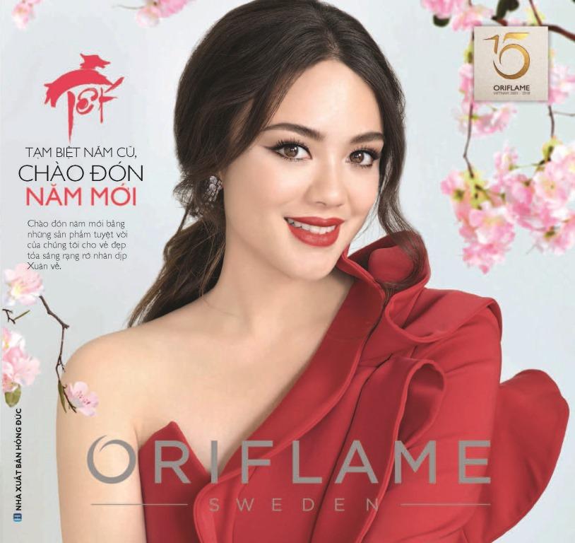 Catalogue mỹ phẩm Oriflame tháng 1-2018