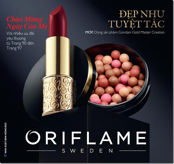 Catalogue mỹ phẩm Oriflame 5-2019